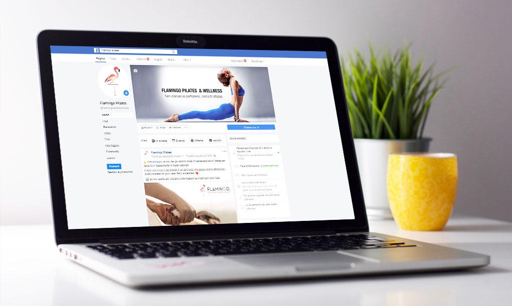 Social Media Marketing - Flamingo Pilates